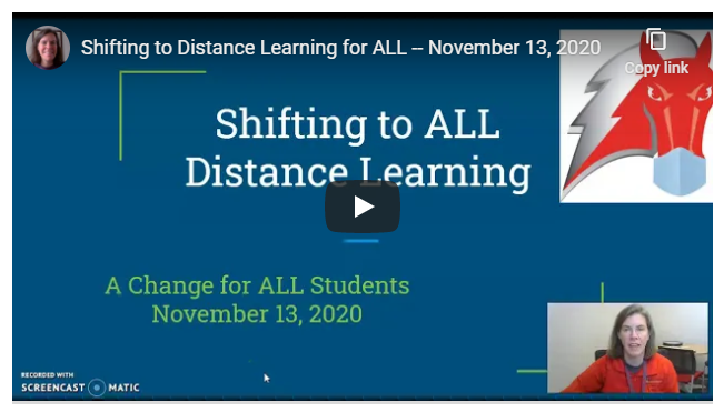 Shifting to Distance Learning Model