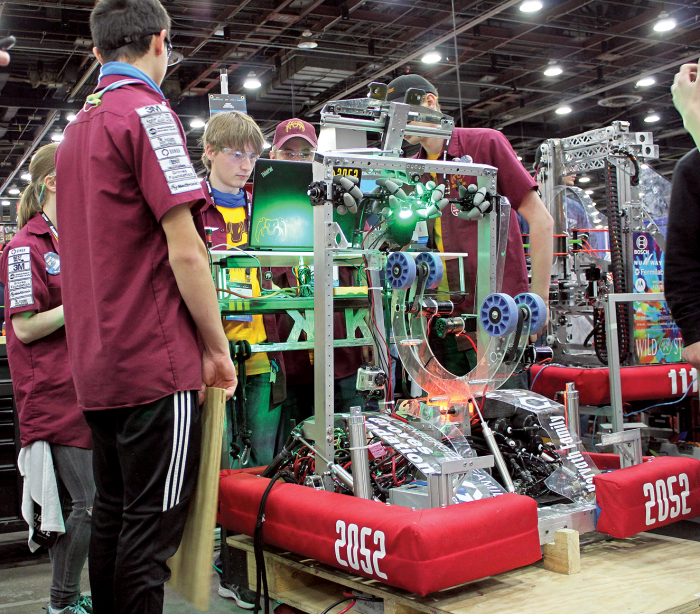 Irondale's Robotics team places 5th at international competition