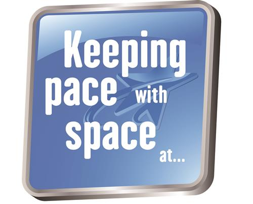 Keeping pace with space at...