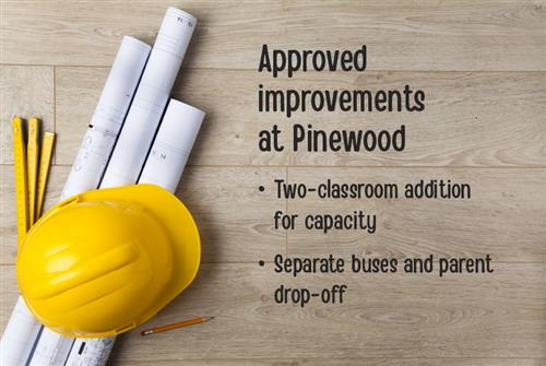 Pinewood improvements