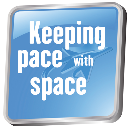 Keeping pace with space