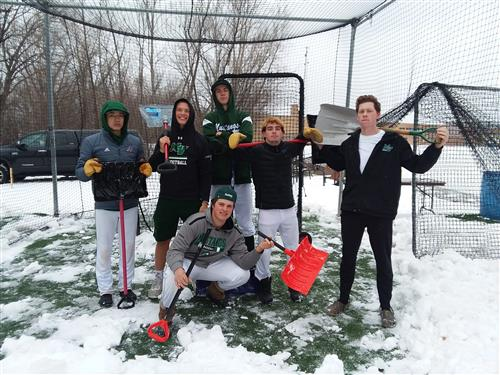 Shoveling Batting Cages