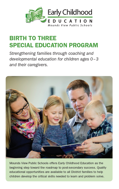 Birth to Three Special Ed brochure