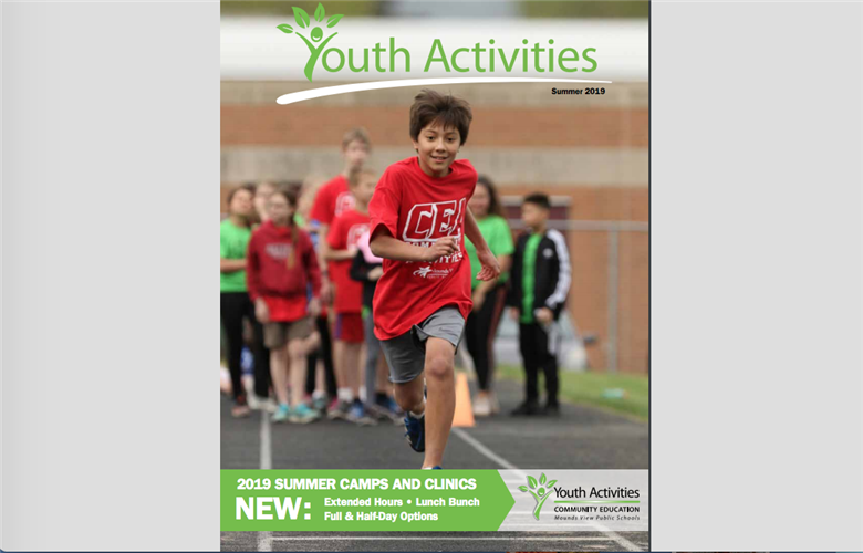 Summer 2019 Youth Activities catalog