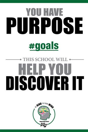 You have purpose. #goals This school will help you discover it.