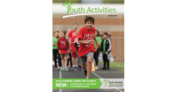 Youth Activities summer catalog