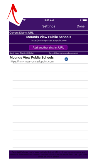 Select Mounds View Public Schools.