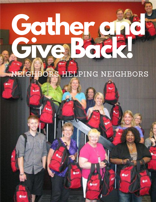 GATHER AND GIVE BACK