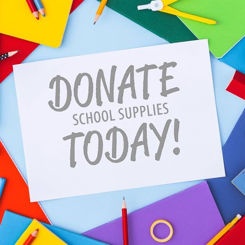 School Supply Donations Needed!